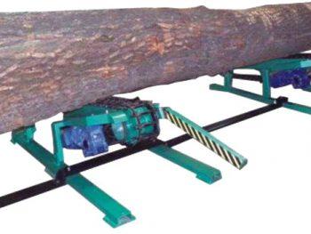 Подаватель брёвен с бункером PKZ-10